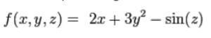 Gradient in Vector Calculus