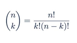Binomial Distribution - choose function