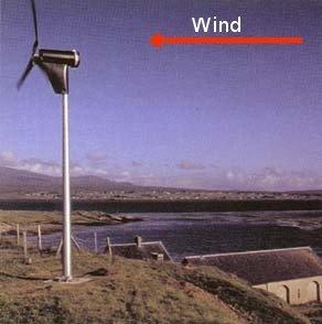 downwind turbine