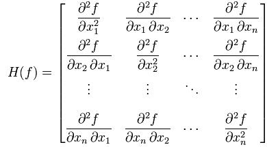 Hessian matrix