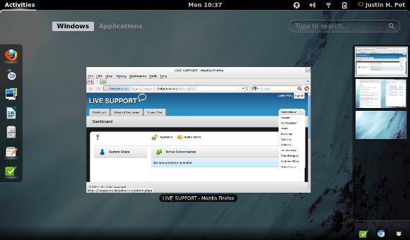 Best Linux Desktop Environment - GNOME